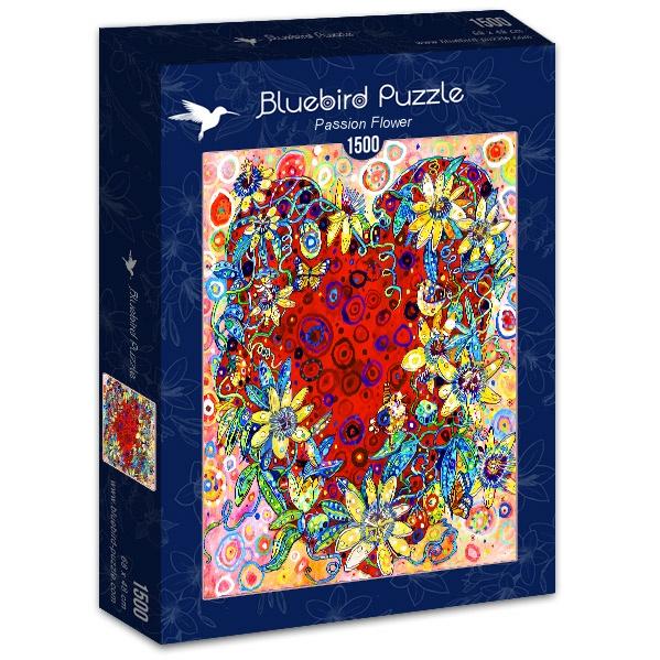 Puzzle Bluebird Flor de la Pasión de 1500 Piezas