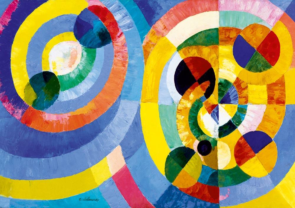 Puzzle Bluebird Formas Circulares de 1000 Piezas
