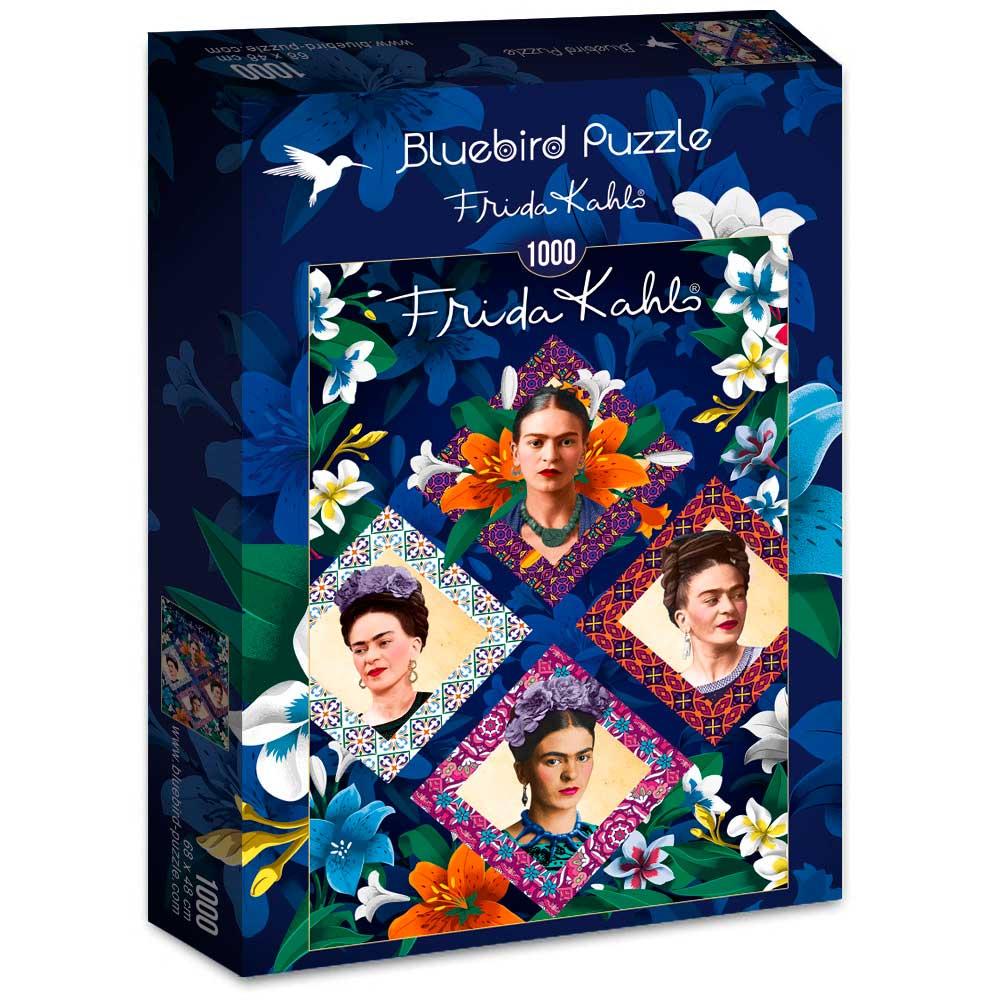 Puzzle Bluebird Frida Kahlo de 1000 Piezas