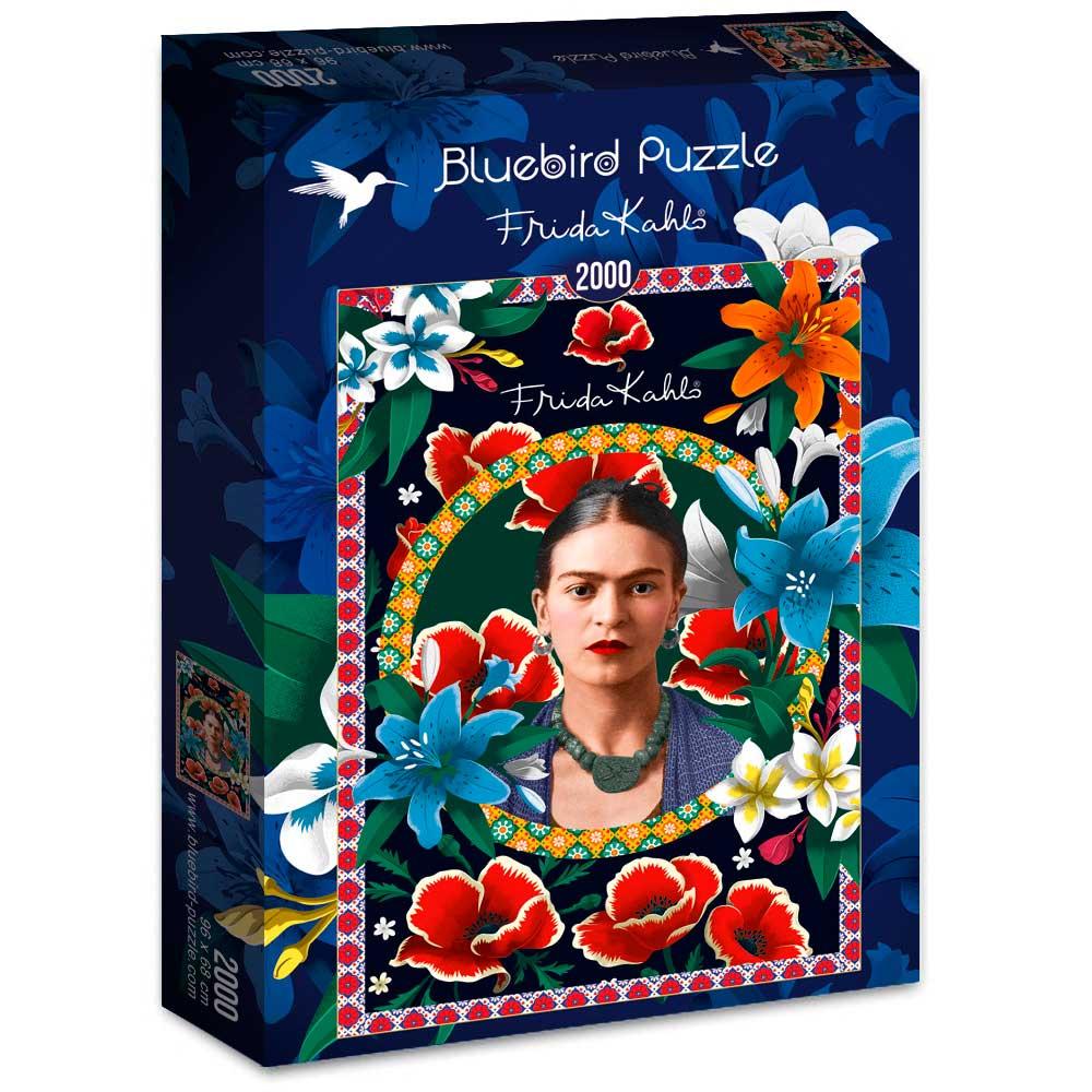 Puzzle Bluebird Frida Kahlo de 2000 Piezas
