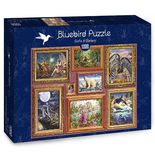 Puzzle Bluebird Galería de Chicas 8 de 1000 Piezas