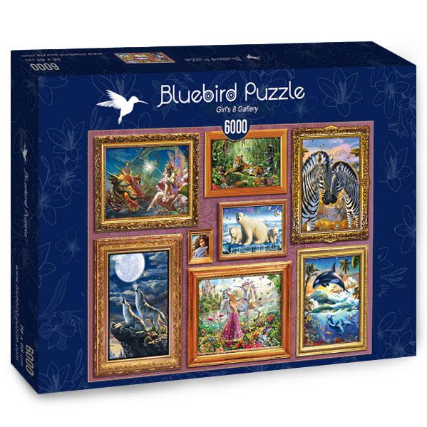 Puzzle Bluebird Galería de Chicas 8 de 6000 Piezas