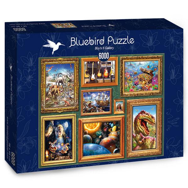 Puzzle Bluebird Galería de Chicos 8 de 6000 Piezas