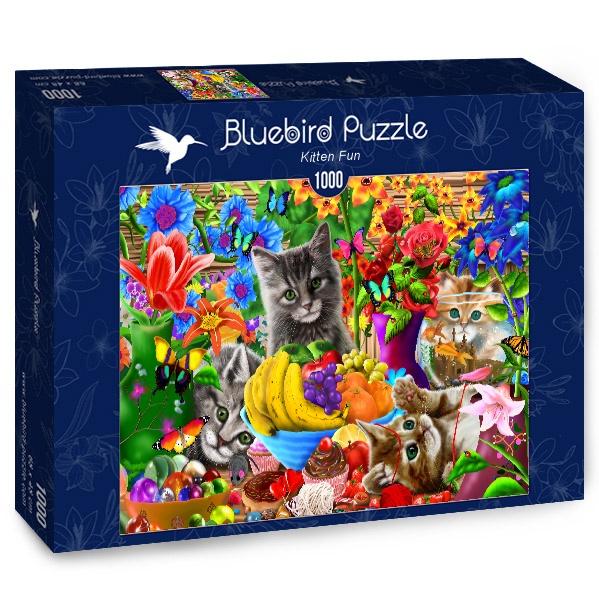 Puzzle Bluebird Gatitos Divertidos de 1000 Piezas