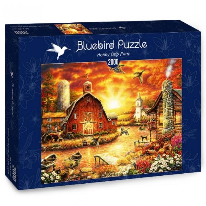 Puzzle Bluebird Granja de Miel de 2000 Piezas