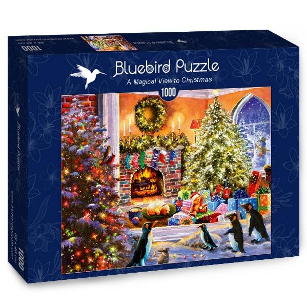 Puzzle Bluebird Imagen Mágica de Navidad de 1000 Piezas