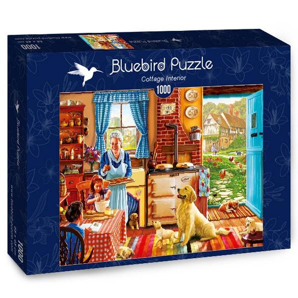 Puzzle Bluebird Interior de la Cabaña de 1000 Piezas