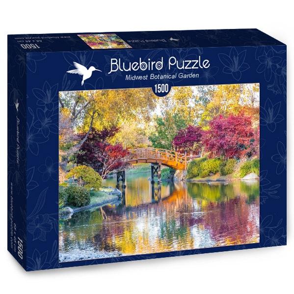 Puzzle Bluebird Jardín Botánico del Medio Oeste de 1500 Pzs