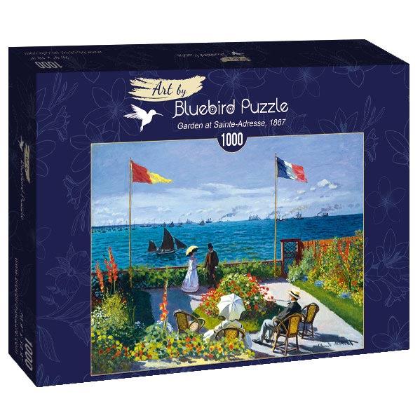 Puzzle Bluebird Jardín en Sainte-Adresse de 1000 Piezas