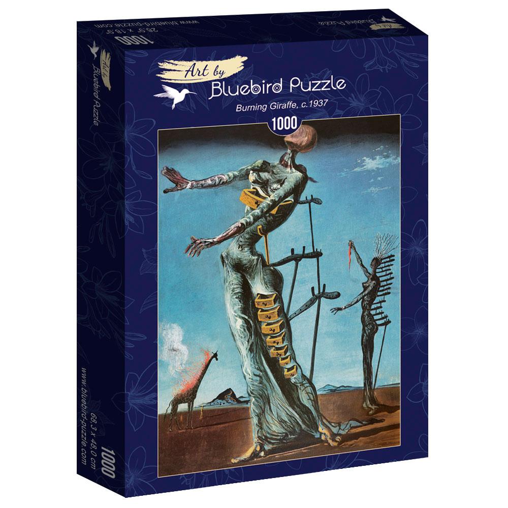 Puzzle Bluebird Jirafa Ardiente 1000 Piezas