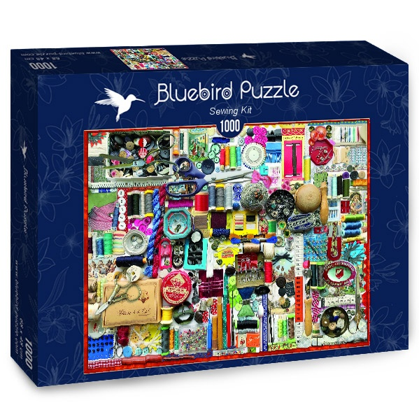 Puzzle Bluebird Kit de Costura de 1500 Piezas