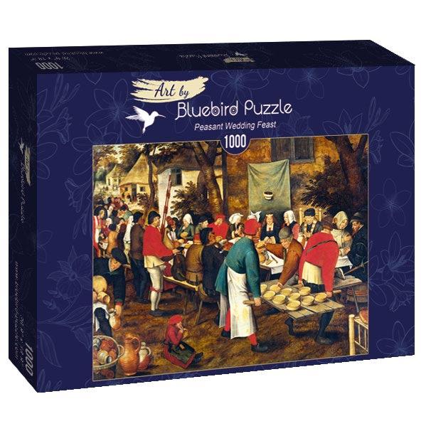 Puzzle Bluebird La boda Campesina de 1000 Piezas