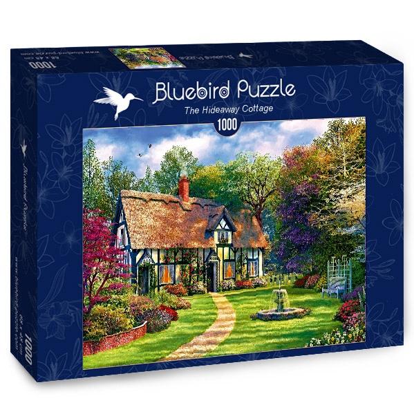 Puzzle Bluebird La Cabaña Escondida de 1000 Piezas