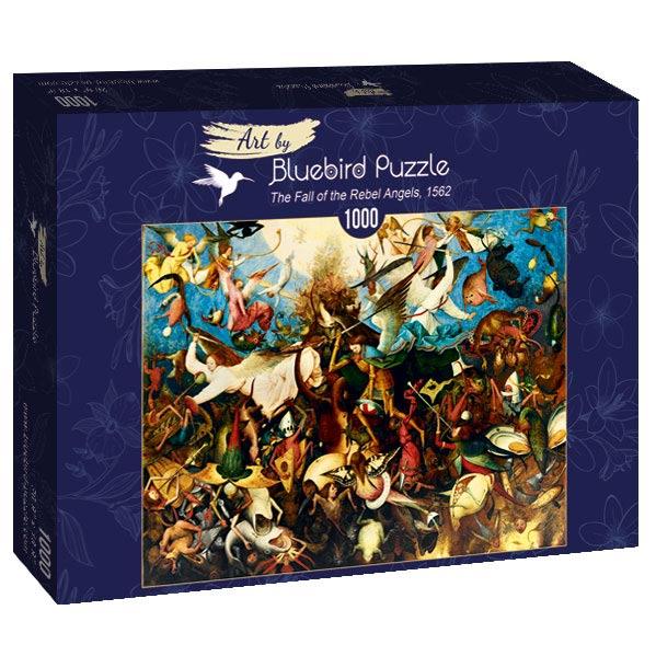 Puzzle Bluebird La Caída de los Ángeles Rebeldes de 1000 Piezas