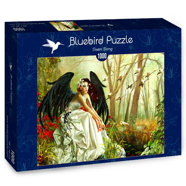 Puzzle Bluebird  La Canción del Cisne de 1000 Piezas