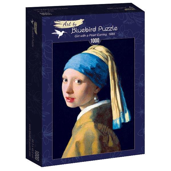 Puzzle Bluebird La Chica de la Perla de 1000 Piezas