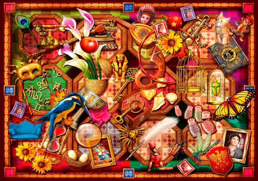 Puzzle Bluebird La Colección de 1000 Piezas
