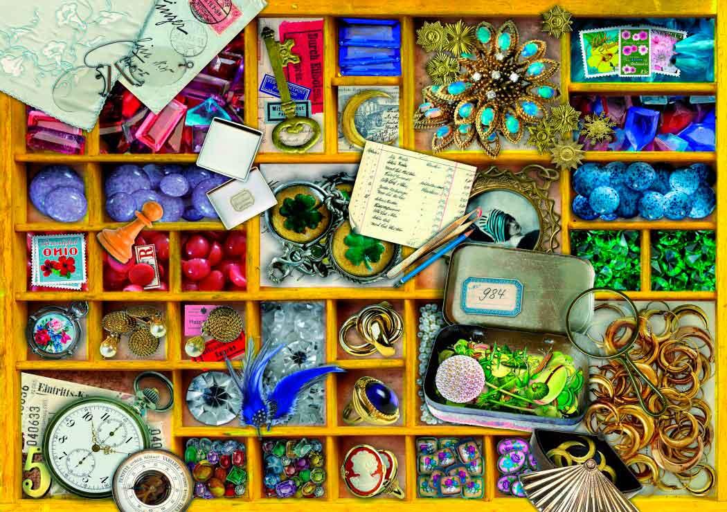 Puzzle Bluebird La Colección en Caja Amarilla de 1000 Piezas