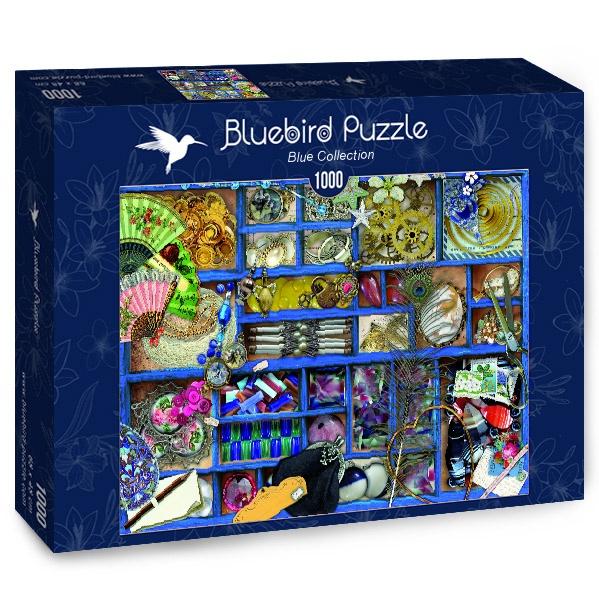 Puzzle Bluebird La Colección en Caja Azul de 1000 Piezas