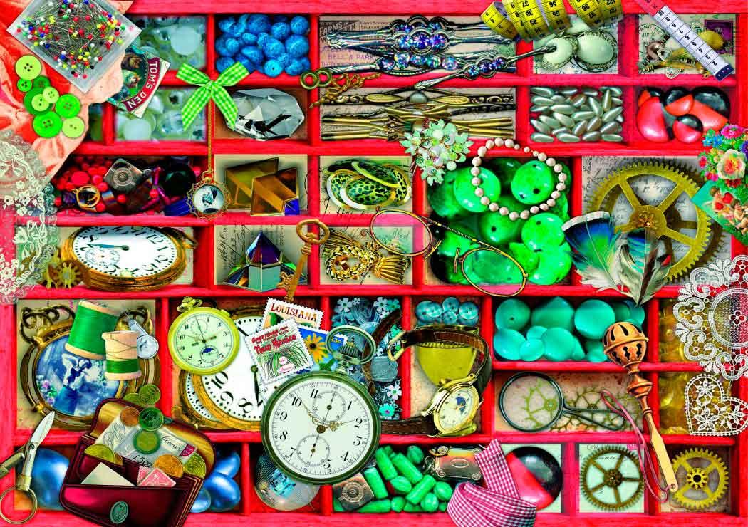 Puzzle Bluebird La Colección en Caja Roja de 1000 Piezas