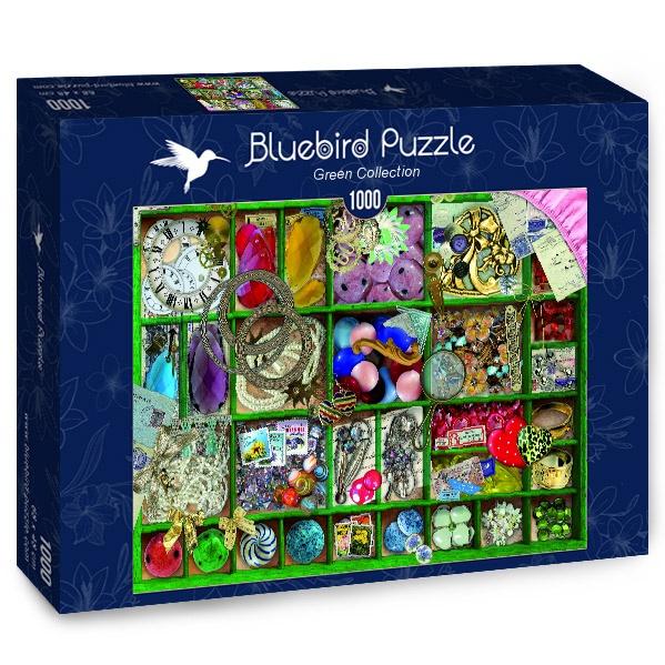 Puzzle Bluebird La Colección en Caja Verde de 1000 Piezas