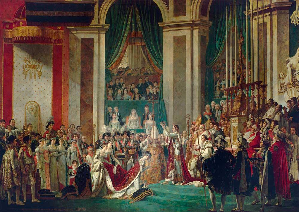 Puzzle Bluebird La Coronación de Napoleón y Josefina de 1000 Pzs