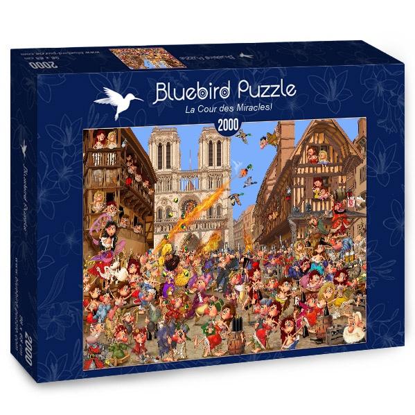 Puzzle Bluebird La Corte de los Milagros de 2000 Pzs