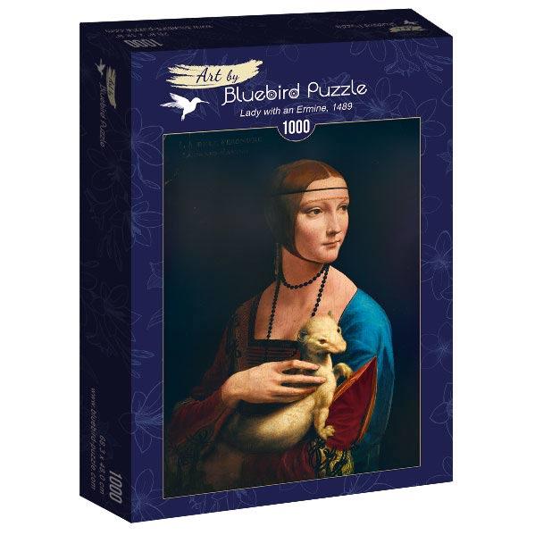 Puzzle Bluebird La Dama del Armiño de 1000 Piezas