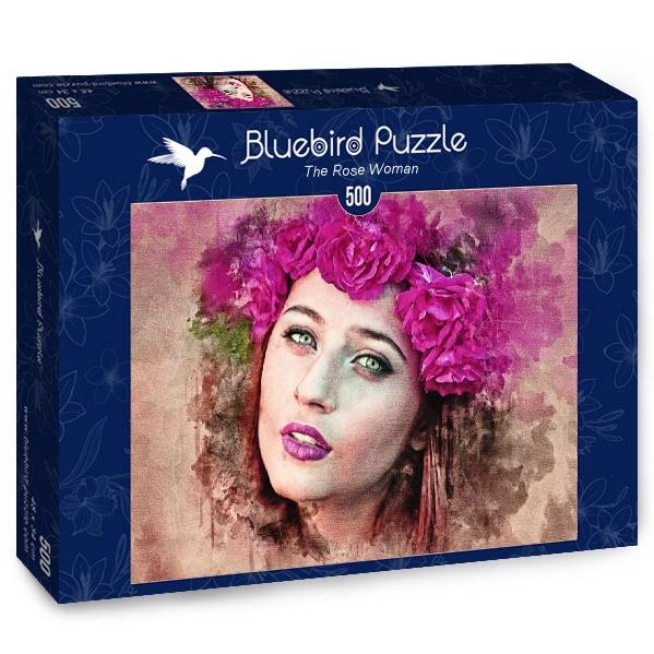 Puzzle Bluebird La Dama Rosa de 500 Piezas