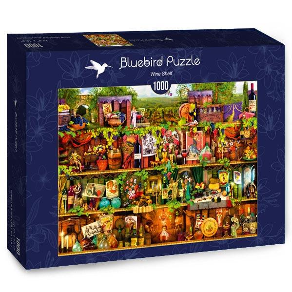Puzzle Bluebird La Estantería del Vino de 1000 Piezas