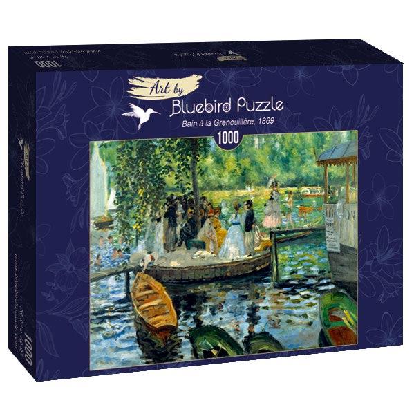 Puzzle Bluebird La Grenouillère de 1000 Piezas