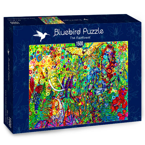Puzzle Bluebird La Jungla de 1500 Piezas