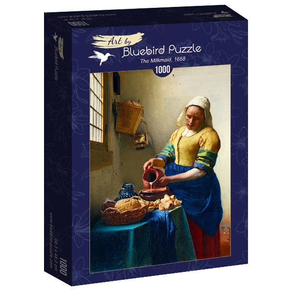 Puzzle Bluebird La Lechera de 1000 Piezas