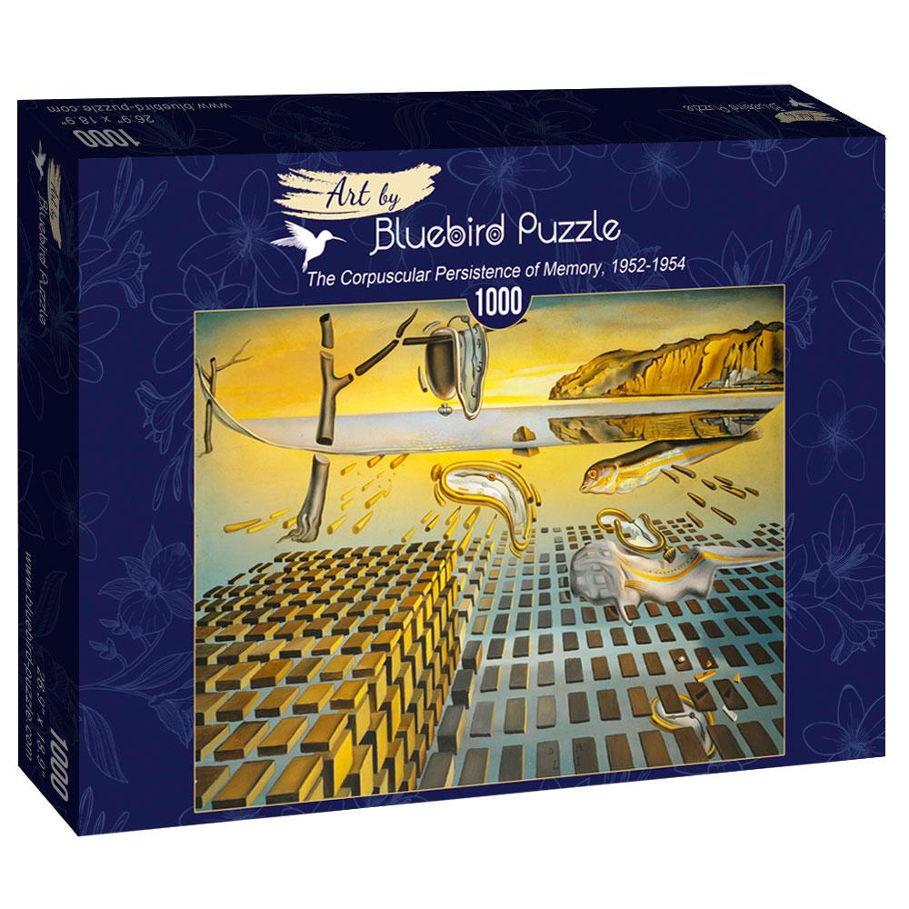 Puzzle Bluebird La Persistencia Corpuscular de la Memoria 1000P