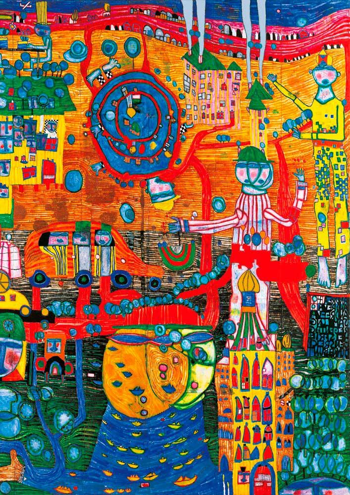Puzzle Bluebird La Pintura Fax 30 Días de 1000 Piezas