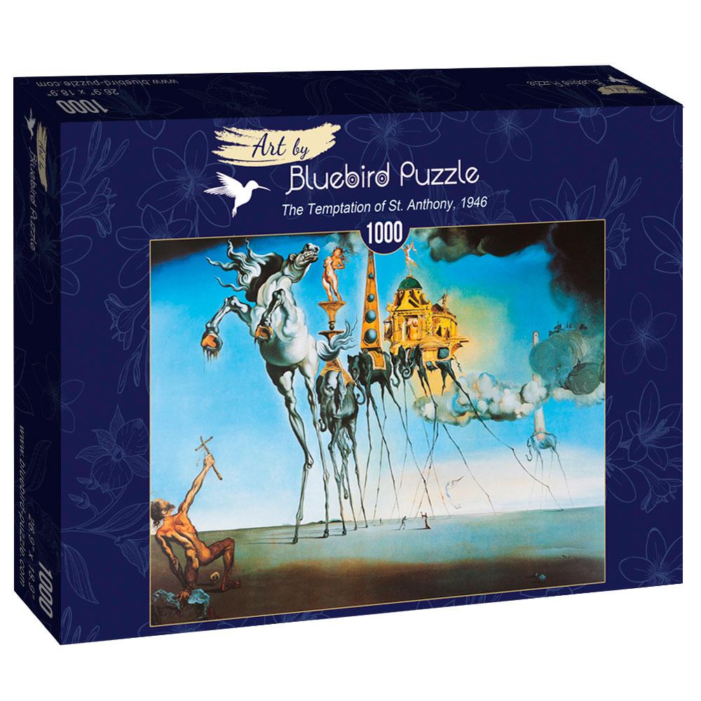 Puzzle Bluebird La Tentación de San Antonio de 1000 Pzs