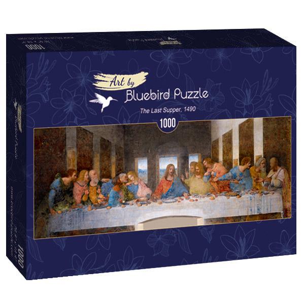 Puzzle Bluebird La Última Cena Panorámico de 1000 Piezas