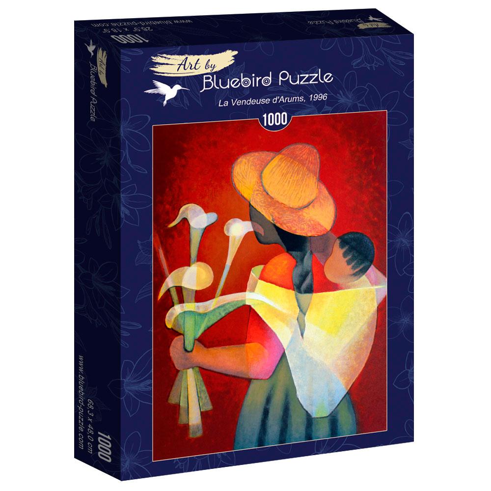 Puzzle Bluebird La Vendedora de Arums 1000 Piezas