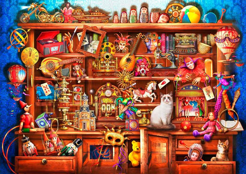 Puzzle Bluebird La Vieja Tienda de 2000 Piezas