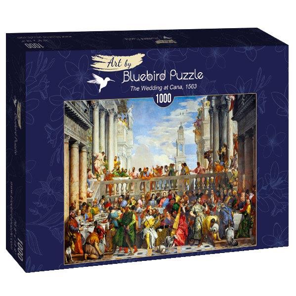 Puzzle Bluebird Las Bodas de Caná de 1000 Piezas