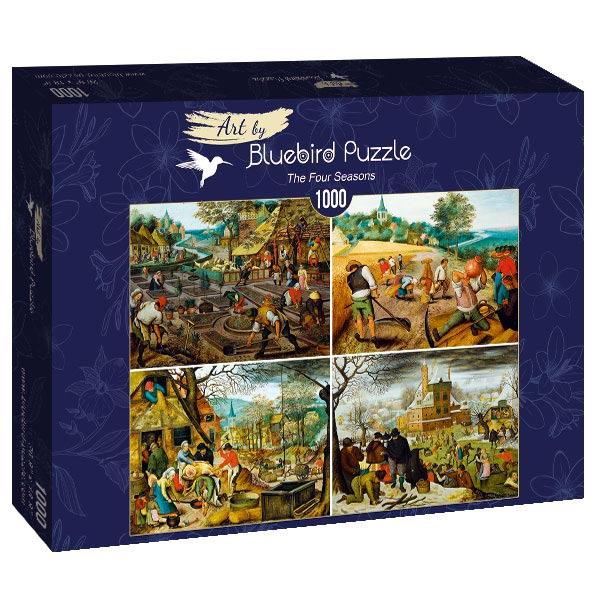 Puzzle Bluebird Las Cuatro Estaciones de 1000 Piezas