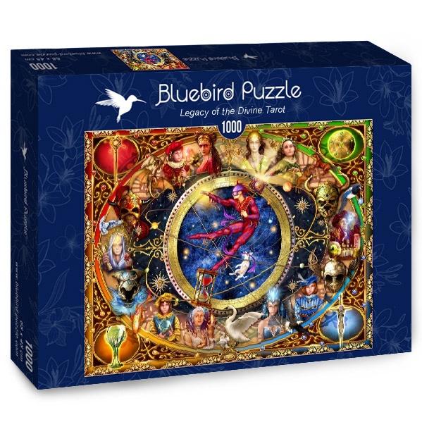 Puzzle Bluebird Legado del Divino Tarot de 1000 Piezas