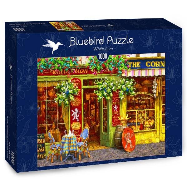 Puzzle Bluebird Restaurante León Blanco 1000 Piezas