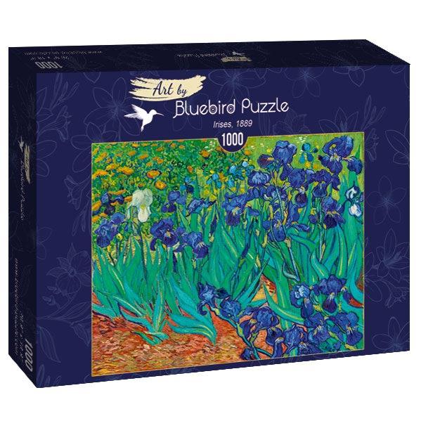Puzzle Bluebird Lirios de 1000 Piezas