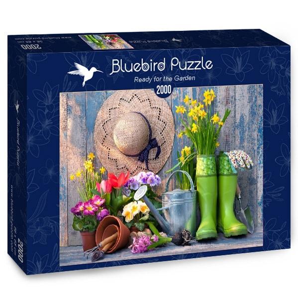 Puzzle Bluebird Listo para el Jardín de 2000 Piezas