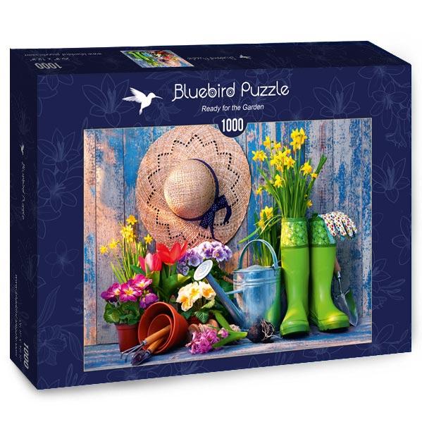Puzzle Bluebird Listos para el Jardín de 1000 Piezas