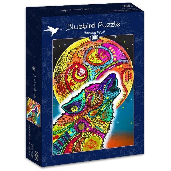 Puzzle Bluebird Lobo Aullando de 1000 Piezas