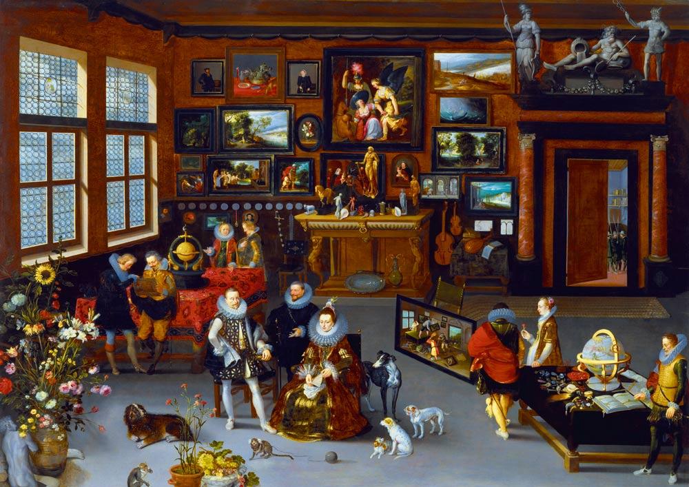 Puzzle Bluebird Los Archiduques Alberto e Isabel de 1000 Piezas