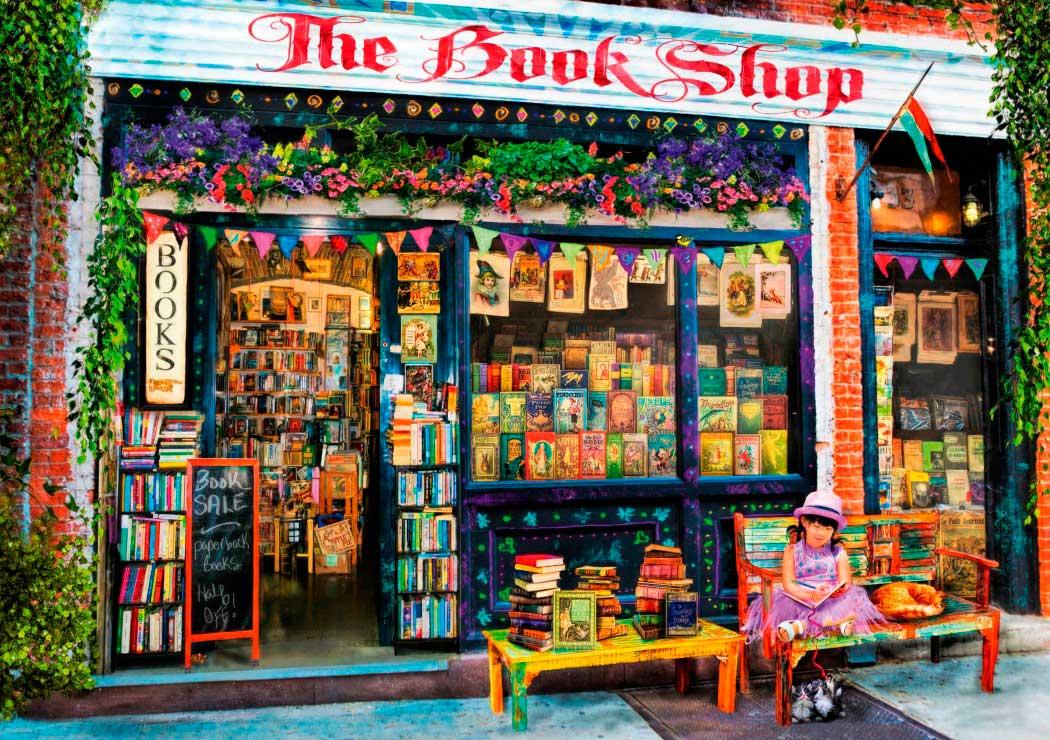 Puzzle Bluebird  Los Chicos de La Librería de 1000 Piezas