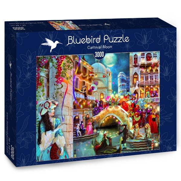 Puzzle Bluebird Luna de Carnaval de 3000 Piezas